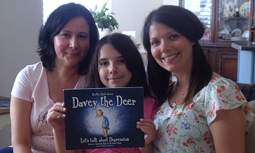 Dr. Grace Vitale, her daughter and Rosaleigh Neal. Barbara Howe