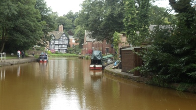Bridgewater Canal at Worsley. Photo by Barbara Howe