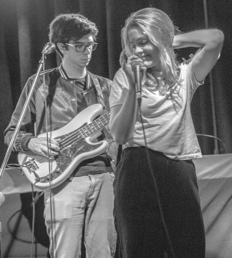 Katie Munshaw, lead singer of Ontario Indie group, Dizzy