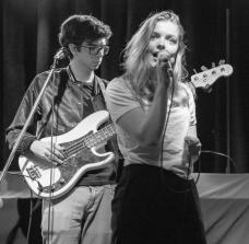 Katie Munshaw, lead singer of Ontario Indie group, Dizzy.