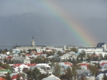 View of Reykjavik, Iceland. Photo by Barbara Howe