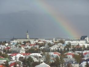 View of Reykjavik, Iceland. Photo by Barbara Howe