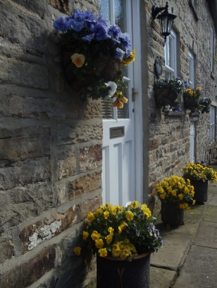 Yorkshire doorway. Photo by Barbara Howe