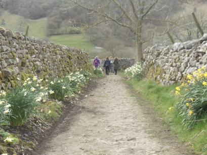 Yorkshire Dales Walk. Photo by Barbara Howe
