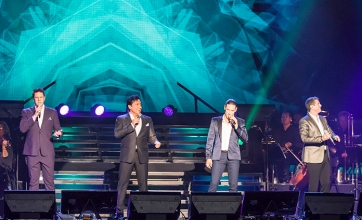Il Divo at the GM Centre. Photo by Barbara Howe