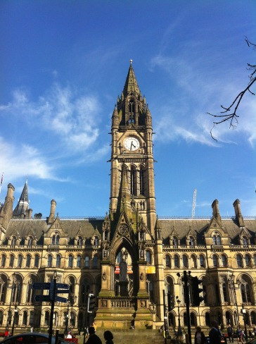 Manchester town hall. Photo by Barbara Howe
