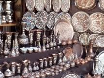Mostar souvenir stall. Photo by Barbara Howe