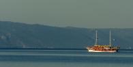 Tour boat, Tucepi, Croatia. Photo by Barbara Howe