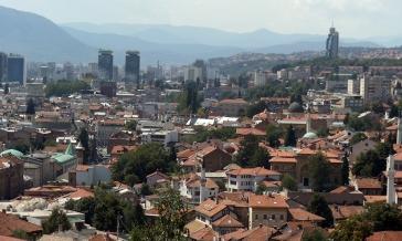 A view of Sarajevo. Photo by Barbara Howe